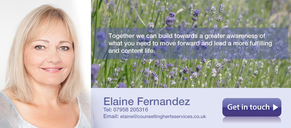 Herts Counselling Services - Elaine Fernandez - St Albans - Get in Touch